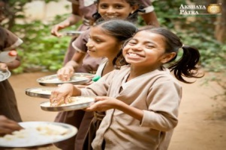 feed-a-child @ ₹5 per meal [Akshaya Patra]